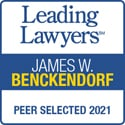 Leading Lawyers SM| James W. Benckendorf | Selected 2019 | The Nation's Top Lawyers, Based Upon a Survey of Their Peers